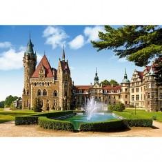 Puzzle 1500 pièces - Château de Moszna, Pologne