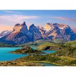 Puzzle 1500 pièces - Parc national Torres del Paine en Patagonie, Chili