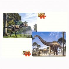 Puzzle 165 et 300 pièces : Dinosaures