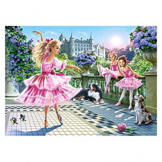 Puzzle 180 pièces : Danseuses de ballet - Castorland-018222