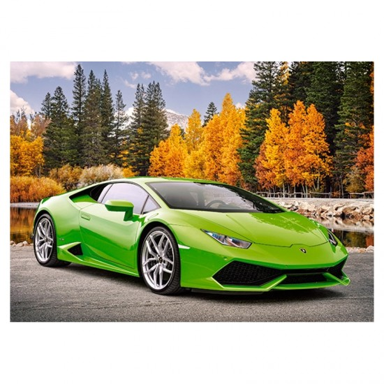 Puzzle 180 pièces : Lamborghini Huracan LP 610-4 - Castorland-018154