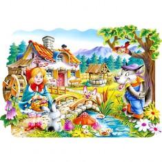 Puzzle 20 pièces : Le petit chaperon rouge