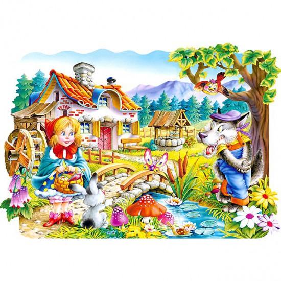 Puzzle 20 pièces : Le petit chaperon rouge - Castorland-02160