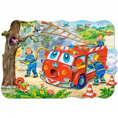 Puzzle 20 pièces maxi : Brigade des pompiers
