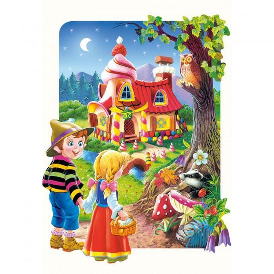 Puzzle 20 pièces maxi : Hansel et Gretel - Castorland-02153