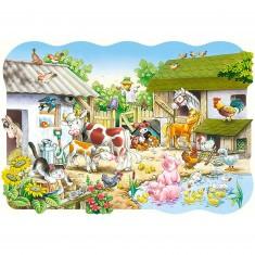 Puzzle 20 pièces maxi : La ferme
