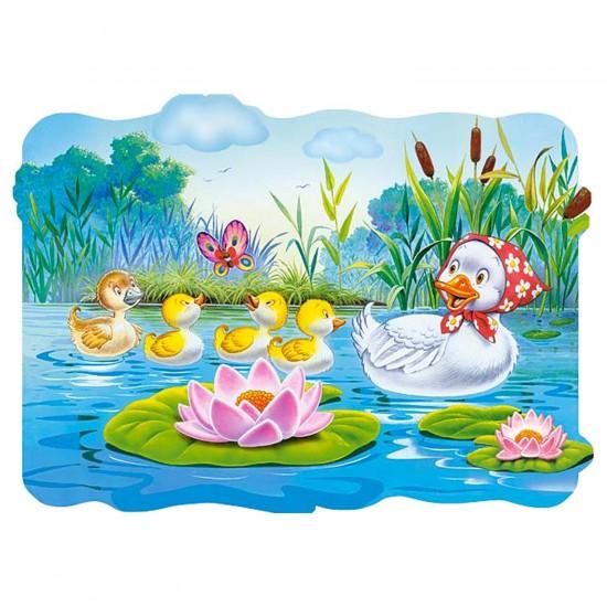 Puzzle 20 pièces maxi : Le vilain petit canard - Castorland-02191