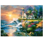 Puzzle 2000 pièces : Crépuscule