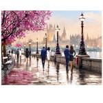 Puzzle 2000 pièces : Le long de la rivière