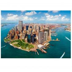 Puzzle 2000 pièces : New York vue du ciel