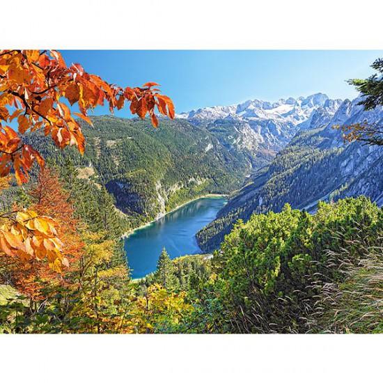 Puzzle 2000 pièces - Au coeur des Alpes - Castorland-200399
