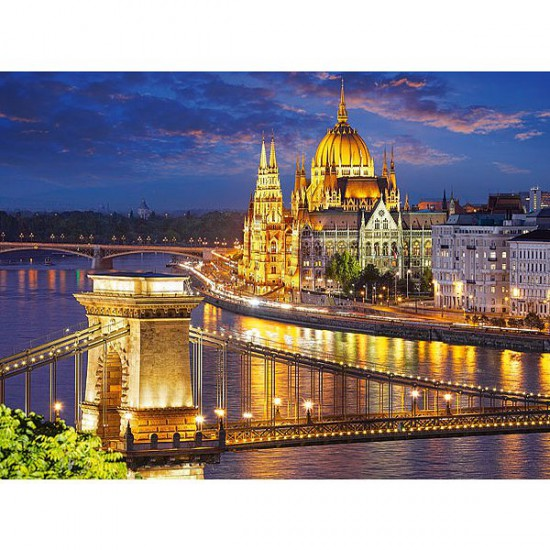 Puzzle 2000 pièces - Budapest, Hongrie - Castorland-200405
