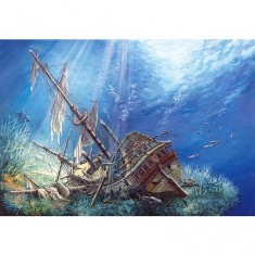 Puzzle 2000 pièces - Epave marine