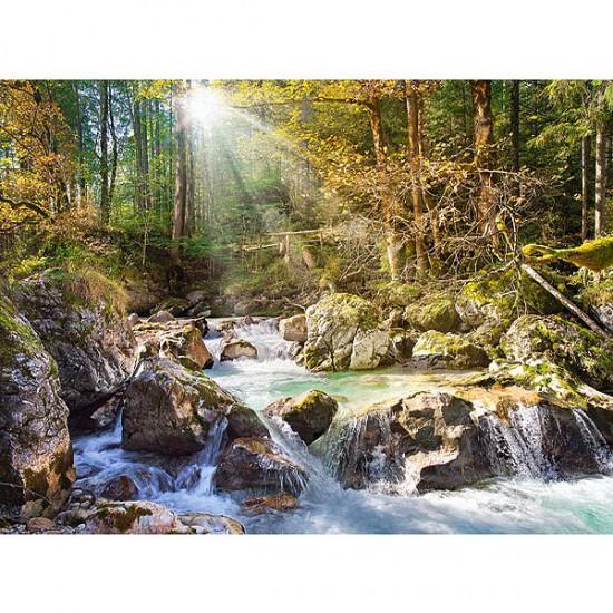 Puzzle 2000 pièces - Le ruisseau de la forêt - Castorland-200382
