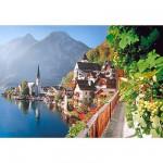 Puzzle 2000 pièces - Village Autrichien
