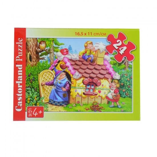 Puzzle 24 pièces : Hansel et Gretel - Castorland-02405B-1