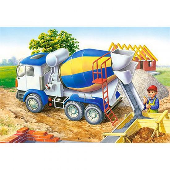 Puzzle 24 pièces - Mini puzzle : Camion toupie - Castorland-02405BM-7