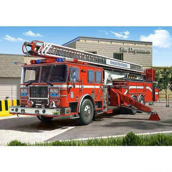 Puzzle 260 pièces : Camion de pompier - Castorland-27040