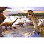 Puzzle 260 pièces : Diplodocus