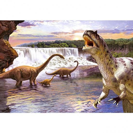 Puzzle 260 pièces : Diplodocus - Castorland-26999