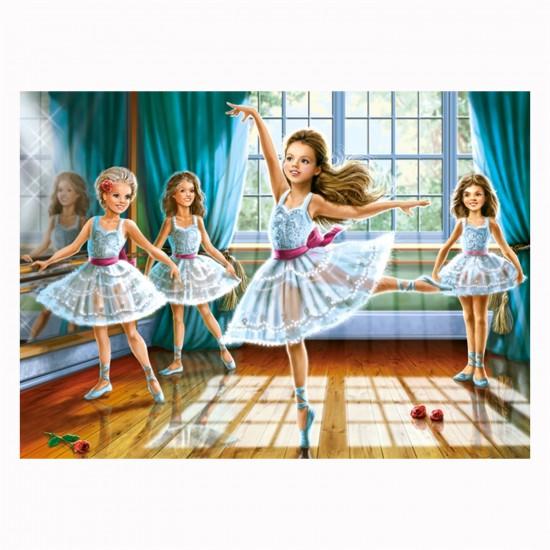 Puzzle 260 pièces : Petites ballerines - Castorland-27231