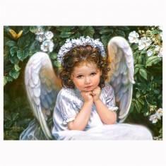 Puzzle 260 pièces : Portrait d'un ange