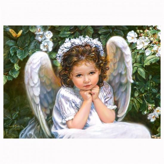 Puzzle 260 pièces : Portrait d'un ange - Castorland-27286