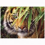 Puzzle 260 pièces : Tigre dans la forêt