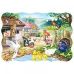 Puzzle 30 pièces : Animaux de la ferme