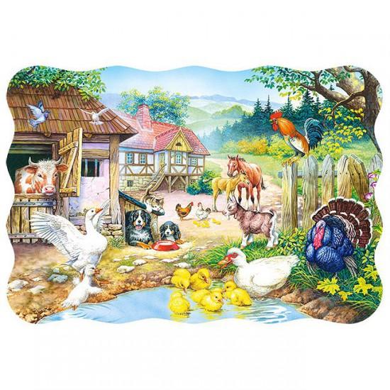 Puzzle 30 pièces : Animaux de la ferme - Castorland-03310