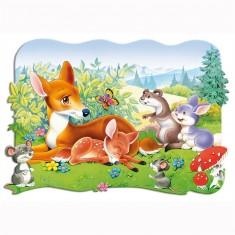Puzzle 30 pièces : Bambi