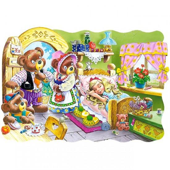Puzzle 30 pièces : Boucles d'Or et les 3 ours - Castorland-03280