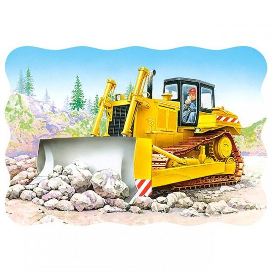 Puzzle 30 pièces : Bulldozer - Castorland-03327