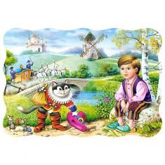 Puzzle 30 pièces : Le chat potté