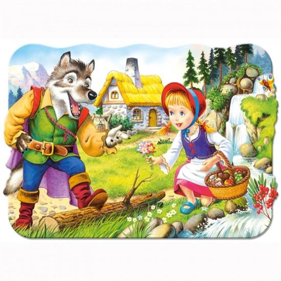 Puzzle 30 pièces : Le petit chaperon rouge - Castorland-03228
