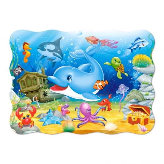 Puzzle 30 pièces : Les amis de l'océan - Castorland-03501-1
