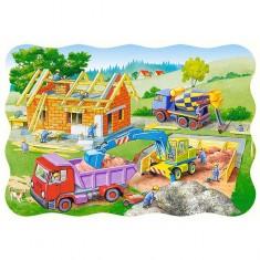 Puzzle 30 pièces : Maison en chantier