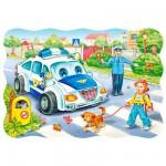 Puzzle 30 pièces : Sur le chemin de l'école