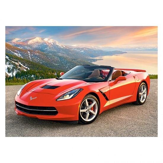 Puzzle 300 pièces : Chevrolet Corvette Convertible - Castorland-030057