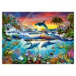 Puzzle 300 pièces : Crique paradisiaque
