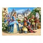 Puzzle 300 pièces : Princesse et chevalier