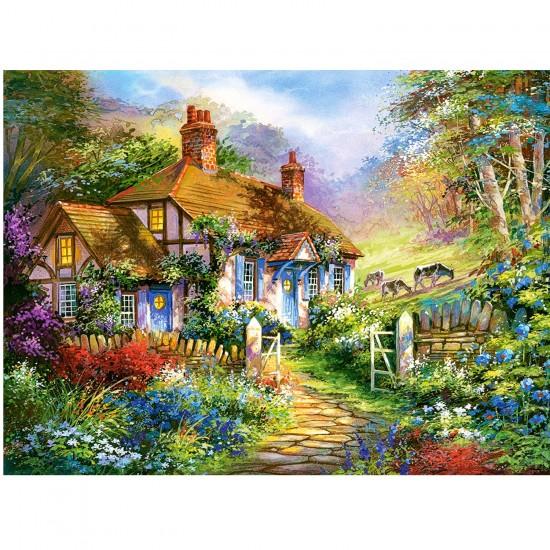 Puzzle 3000 pièces : Cottage forestier - Castorland-300402-2