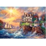 Puzzle 3000 pièces : En pleine tempête