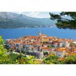 Puzzle 3000 pièces : Korcula, Croatie