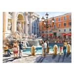 Puzzle 3000 pièces : La fontaine de Trevi, Rome