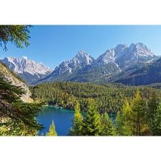 Puzzle 3000 pièces : Lac dans les Alpes, Autriche