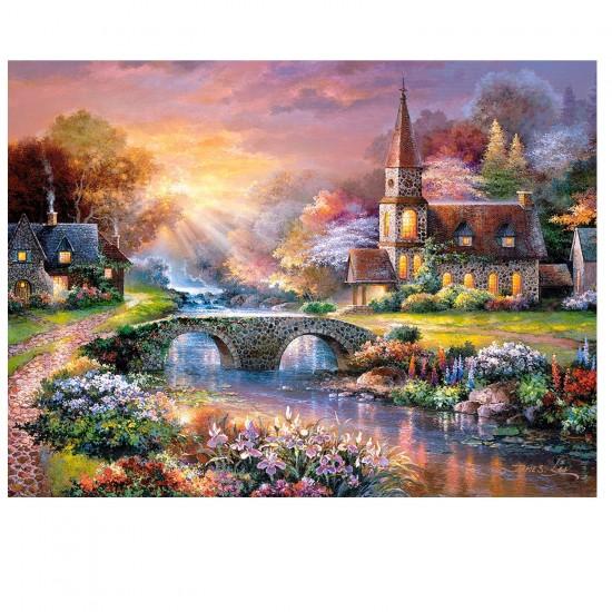 Puzzle 3000 pièces : Moment de paix - Castorland-300419-2
