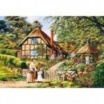 Puzzle 3000 pièces : Quel beau jardin