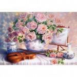 Puzzle 3000 pièces : Trisha Hardwick : Roses pour la soirée