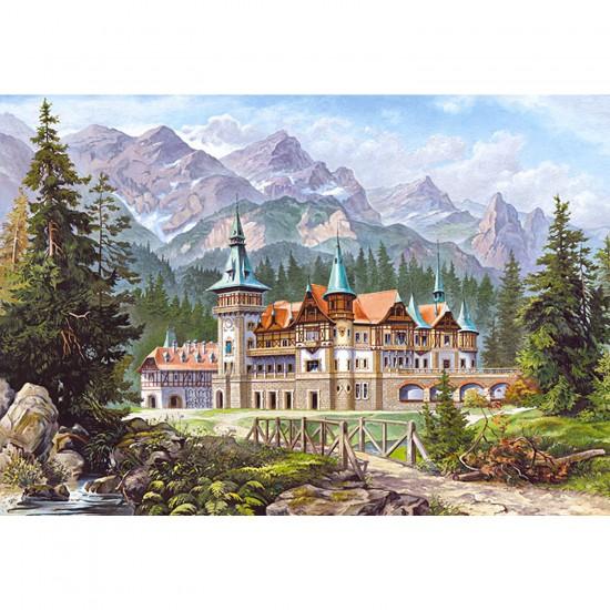 Puzzle 3000 pièces - Château au pied de la montagne - Castorland-300099